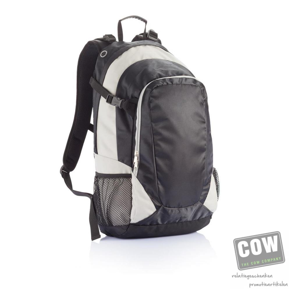 cc419ba4bc0 PVC vrije hiking rugtas - onbedrukte en bedrukt relatiegeschenken